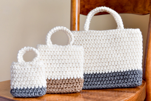 Falling Spring Crochet Easy Gift Bag Crochet Pattern Featured Image
